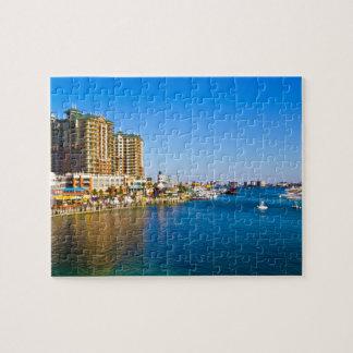 Destin Harbor Scenic Photo Puzzles