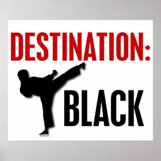 Destination Black 1 Posters