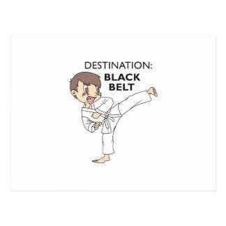 DESTINATION BLACK BELT POSTCARD