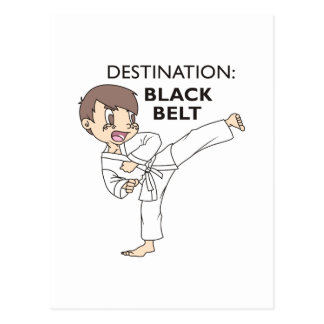 DESTINATION BLACK BELT POSTCARD