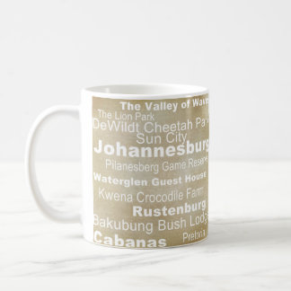 Destination Collection: South Africa Coffee Mug