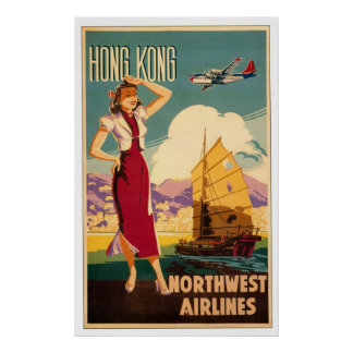 Destination: Hong Kong Poster