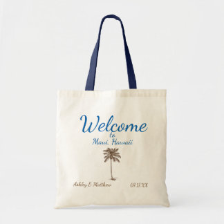 Destination Palm Tree Welcome Bag