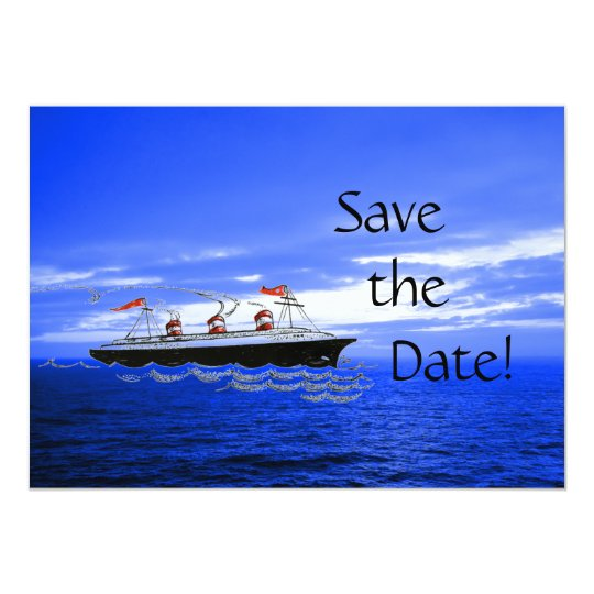 Destination Wedding Cruise | Save the Date Ship