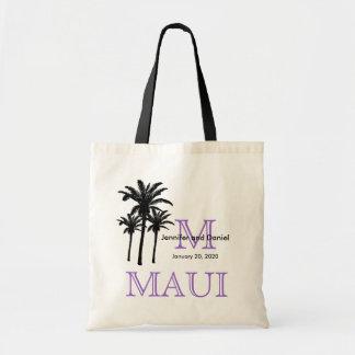 Destination Wedding Tote Bags Maui