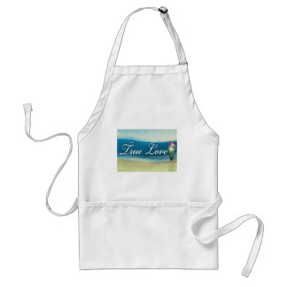 Destination wedding  - true love apron