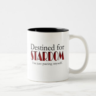 Destined for Stardom Two-Tone Coffee Mug