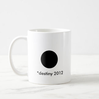 *destiny 2012 BlackcSqCircleTrans-3 Basic White Mug