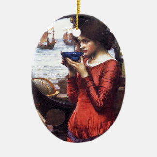 DESTiNY, by John William Waterhouse, 1900 Christmas Ornament