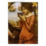 Destiny by JW Waterhouse, Vintage Victorian Art