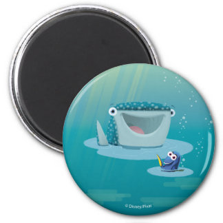 Destiny & Dory   Bubble Buds 6 Cm Round Magnet