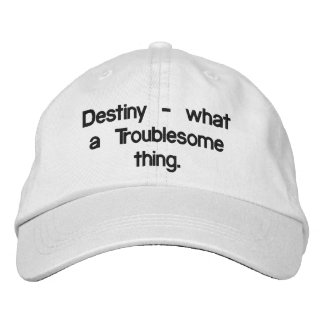 Destiny Embroidered Hat