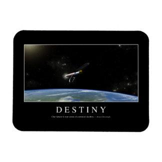 Destiny: Inspirational Quote 1 Rectangular Photo Magnet