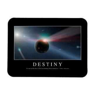 Destiny: Inspirational Quote 2 Rectangular Photo Magnet