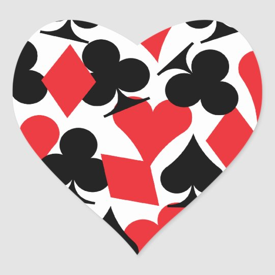 Destiny Las Vegas Wedding Heart Sticker