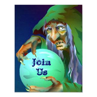 "DESTINY REVEALED ~ BACHELORETTE PARTY INVITATIONS 4.25"" X 5.5"" INVITATION CARD"
