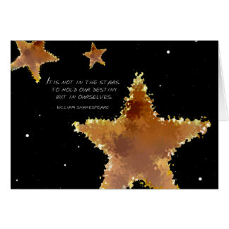 Destiny Stars Greeting Card