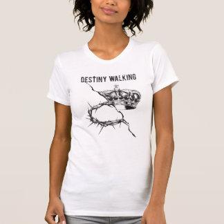 Destiny Walking Custom White T-shirt | Alice Krug