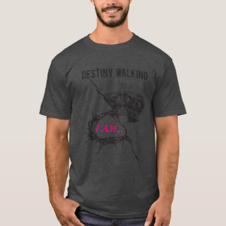 """Destiny Walking-Men's """"His Design"""" t-shirt"""