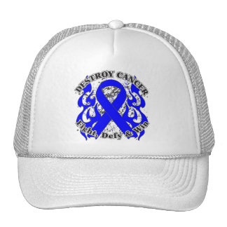 Destroy Anal Cancer Trucker Hats