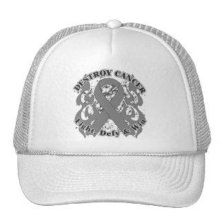 Destroy Brain Cancer Hats