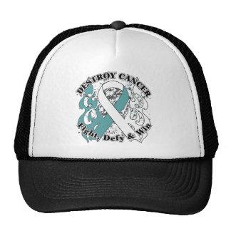 Destroy Cervical Cancer Mesh Hat