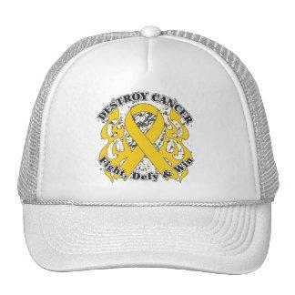 Destroy Childhood Cancer Trucker Hat
