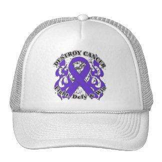 Destroy GIST Cancer Mesh Hat