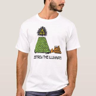 Destroy The Illuminati - Bulldozer T-shirt