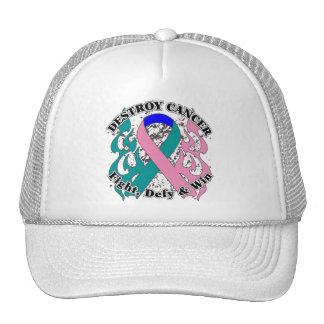 Destroy Thyroid Cancer Mesh Hats