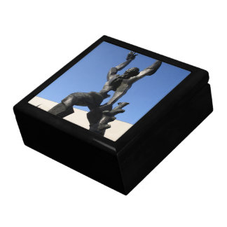 Destroyed City Large Square Gift Box