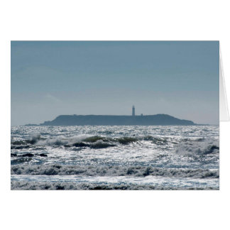 Destruction Island Lighthouse from Ruby Beach Greeting Card
