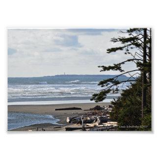 Destruction Island Lighthouse Photographic Print