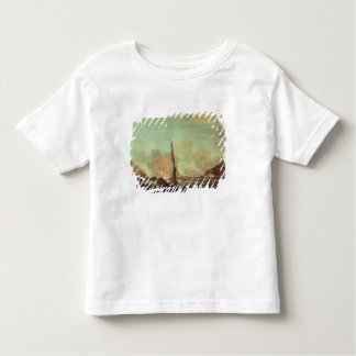 Destruction of the floating batteries at toddler T-Shirt