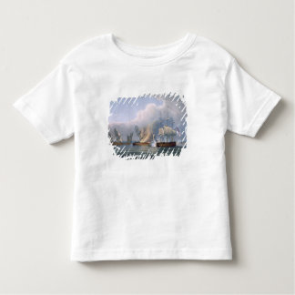 Destruction of the French Frigates L'Arianne & L'A Toddler T-Shirt