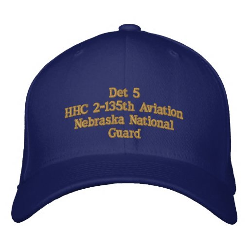 Det 5, 2 / 135 Aviation Bn. Embroidered Cap