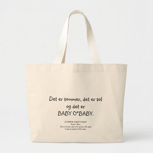 Det er BABY O*BABY... Tote Bag