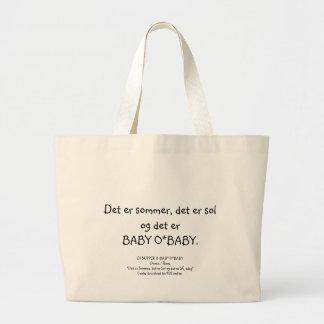 Det er BABY O*BABY... Jumbo Tote Bag