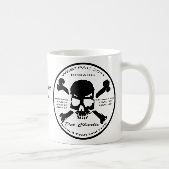 Detachment Charlie 2011 logo mug