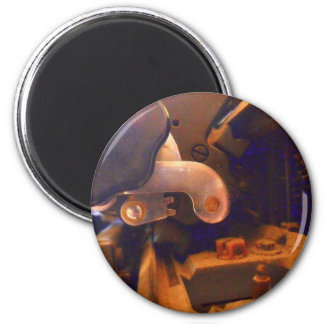 detail alte Schreibmaschine olivetti 6 Cm Round Magnet