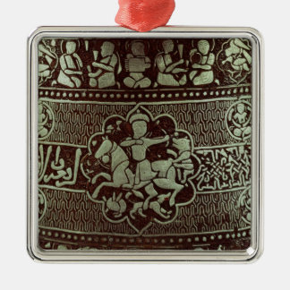 Detail from a lamp, from Egypt, 1282 Christmas Ornament