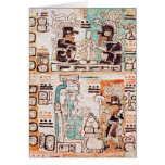 Detail from a Mayan codex Cards
