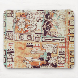 Detail from a Mayan Codex Mouse Mat
