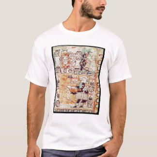 Detail from a Mayan Codex T-Shirt