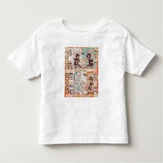 Detail from a Mayan codex Toddler T-Shirt