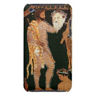 Detail from a red-figure vase showing an actor hol iPod Case-Mate case