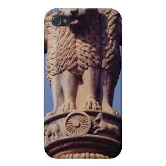 Detail from an Ashoka Pillar Covers For iPhone 4
