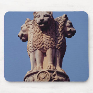 Detail from an Ashoka Pillar Mouse Mat