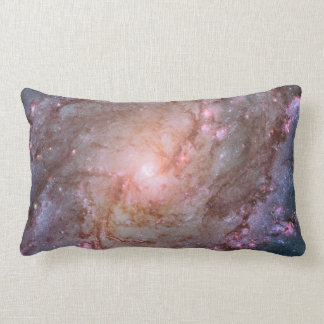 Detail from Spiral Galaxy M83 Lumbar Cushion