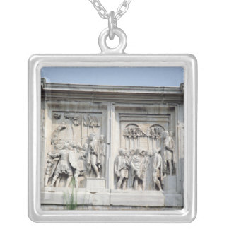 Detail from the Arch Constantine Silver Plated Necklace